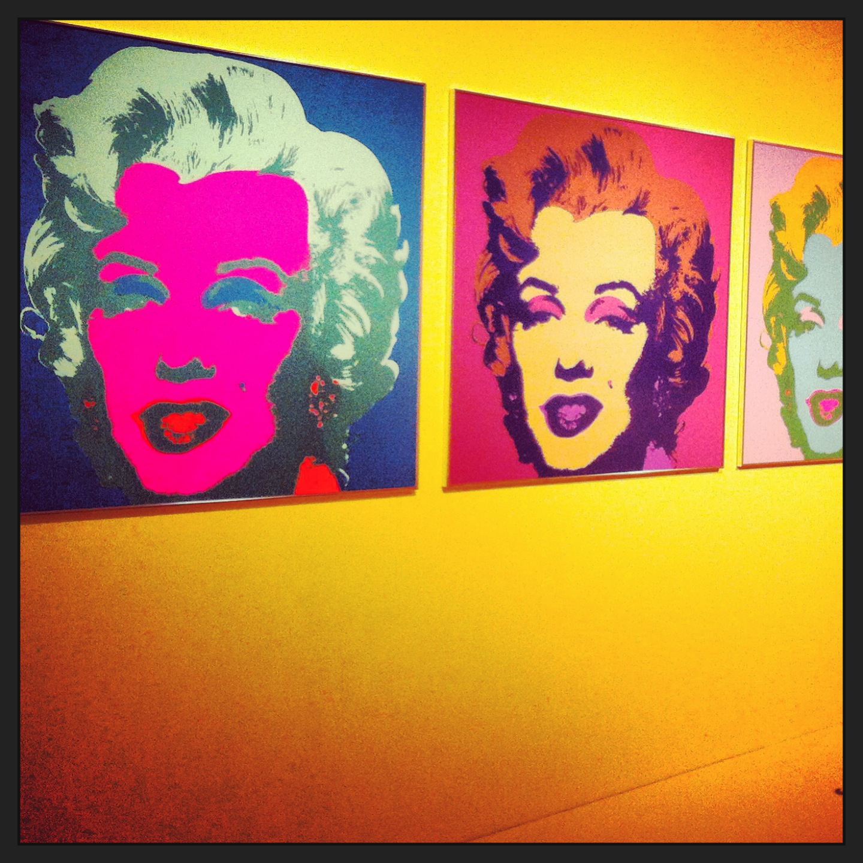 Marilyn Monroe vista da Warhol a Pisa