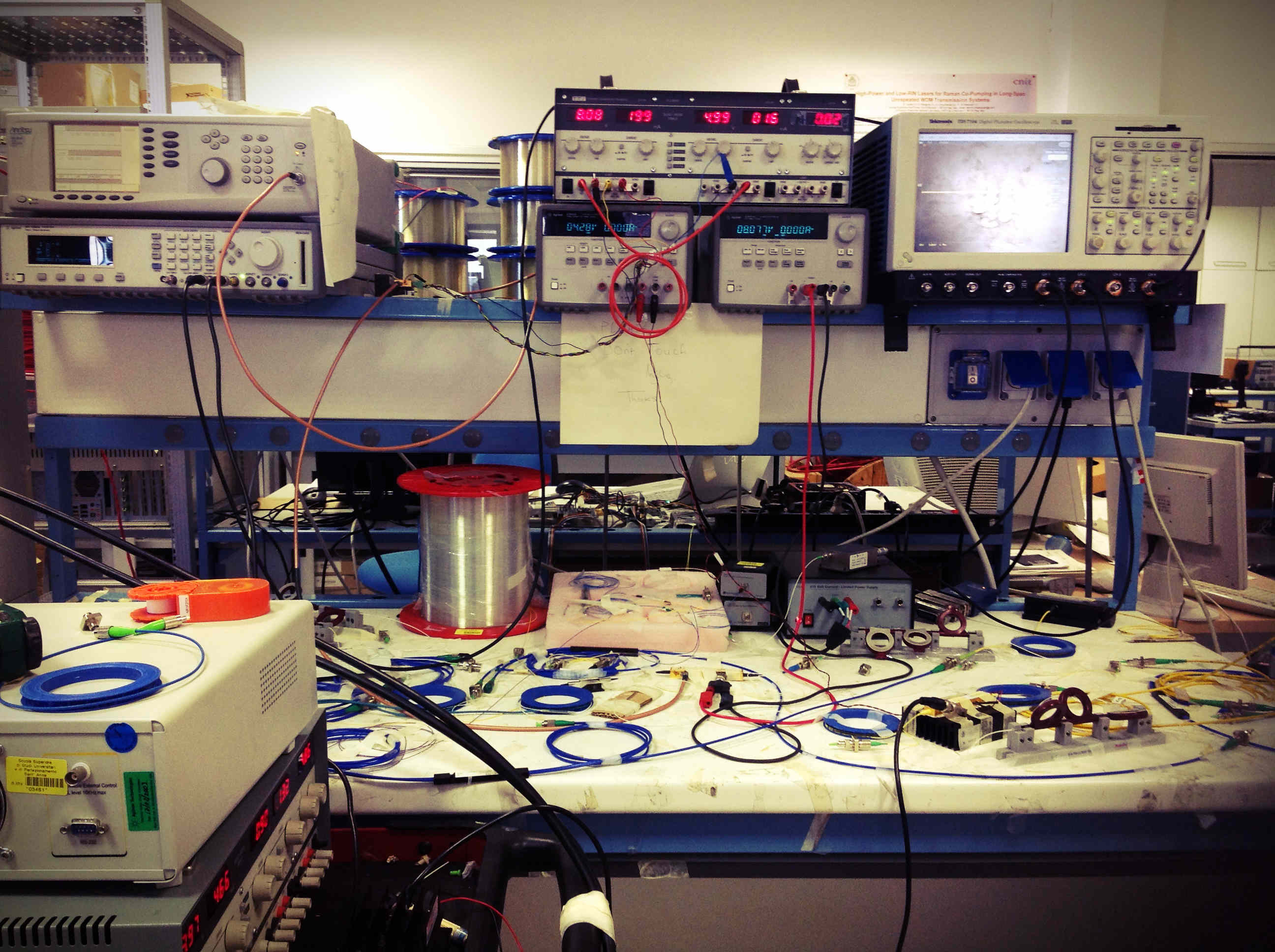 Il TeCIP, la fotonica e i progetti internazionali